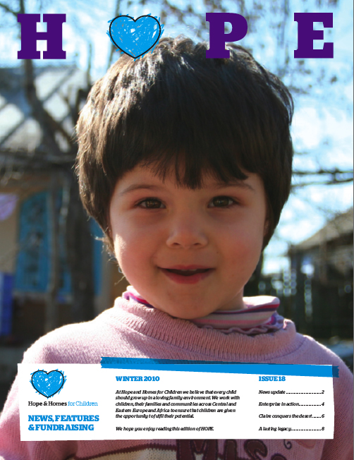 Hope and Homes - Winter 2010
